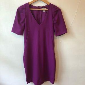 H&M Purple Vneck Dress